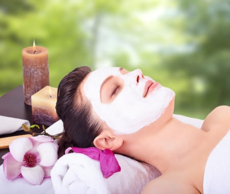 Facials and Skincare at The Spa